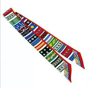 Accessories - BNIB!! Hermes Twilly 100% Silk Colliers De Chiens